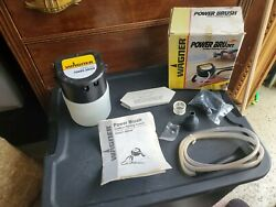 Wagner Power Brush Cordless Painting System - Power Brush Head - New Old Box/stk