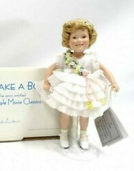 Shirley Temple Porcelain Doll-baby Takes A Bow-danbury Mint
