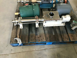 Moyno Sanitary Pump Model 3fgj3ssv. Inlet Is 8 X4 Outlet Is 1.5 Tri-clamp.