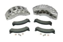 99-04 Ford F-250/350/excrsn Ssbc Quick Change 8 Piston Front Caliper Kit Clear