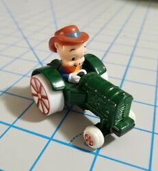 Iowa Loony Tunes Die Cast Farm Tractor Driven By Porky Pig