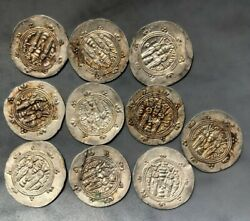 Tomcoins-middle East Asia Silver Hand Made Coin 24mm/2g