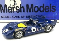 1967 Sunoco Lola T70 Can Am 6 Marsh Models 143 Scale Assembled Built