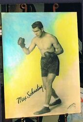 Old Rare Max Schmeling 30x40 Large Format Boxing Photo 1930 World Champion Boxer