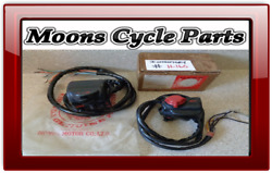 Nos Honda Cb-500-t New Turn / Stop Left And Right Switch Set 1975 1976 Cb500t