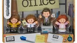 THE OFFICE Fisher Price Little People Pam Jim Dwight Michael Set Of 4. In Hand $49.00