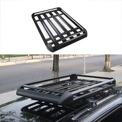 For Jeep Grand Cherokee 2011-2020 Aluminum Black Roof Rail Luggage Rack Carrier