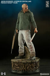 Sideshow Exclusive Jason Voorhees Legend Of Crystal Lake Statue 929/1250ex