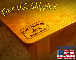 Branding Iron - 2 X 1 Custom Text Hand Crafted By W/hand Plane For Wood