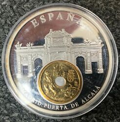 Spain - Land039silver Of Europe - Copper Silver And Mint Gold To Land039or End