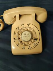 Vintage Western Electric Bell System Pink Rotary Dial Telephone