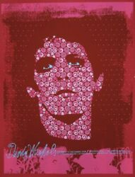 Dandy Warhols 2008 Limited Edition Concert Poster Todd Slater Lou Reed