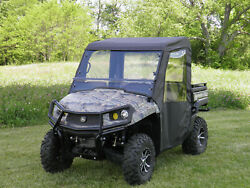 Full Cab + Clear Lexan Windshield- John Deere Gator Xuv 2012-2020 New Utv