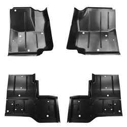 Front And Rear Floor Pan Kit For 87-95 Jeep Wrangler 76-86 Jeep Cj7