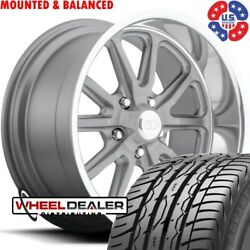 20x8-20x9.5 Us Mags Rambler U111 Wheels And Tires For Chevy Gmc C10 Square Body