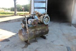 Ingersoll Rand 10hp Air Compressor 30t With 80 Gallon Tank 3-phase Used