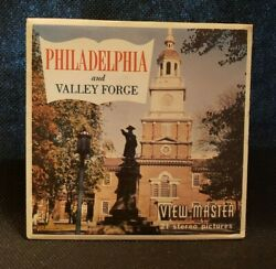 Vintage Sawyer's A631 Philadelphia And Valley Forge Pa View-master Reels Packet