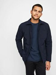 Nwt Hill City/ Thermal Light Shirt Jacket Navy Size L    372466 T1010