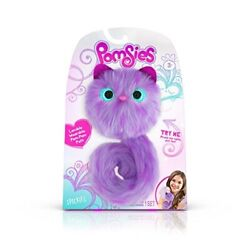 Pomsies 1884 Speckles Plush Interactive Toys One Size Purple/lavender