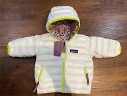 Baby Infant/toddler Reversible Down Sweater Hoody 600 Fill 3-6 Months