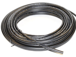 25 Feet Of 1/8 Inch Sae Dot Approved Reinforced Air Line / Air Brake Hose 1/8