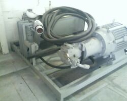 Hydraulic Pump System Built By Rg Group- Parker Axial Piston Pump- Us Electric M