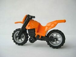 Lego ORANGE DIRT BIKE Motorcycle for Minifigures to Ride $3.99