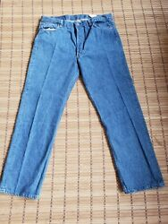 Vintage New 501 Denim Jeans Made In Usa 501-0113 80s 90s 38/30