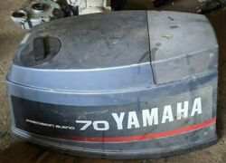 Yamaha 70 Hp Precision Blend Outboard Engine Cover Top Cowl Cowling Year