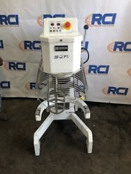 Doyon 40 Qt 20 Speed Planetary Floor Mixer With Guard,includes 1 Paddle,bowl Mis