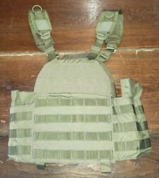 Firstspear The Beat Up Plate Carrier Molle Small S Khaki Tan Armor Vest Tactical