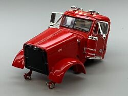 1/64 Dcp Parts Red Peterbilt 379 Day Cab