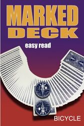 Mak Magic Marked Deck Easy Read Blue Bicycle Cards Hustler Shark See Video