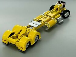 1/64 Dcp Parts Yellow 300 Peterbilt 359/379/389 Chassis W/ Show Fenders
