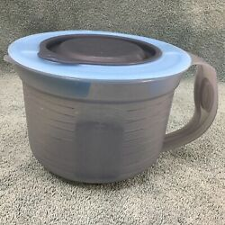 Tupperware Mix N Store 8 Cup Measuring Mixing Batter Bowl 5665 5665a-1 Vintage