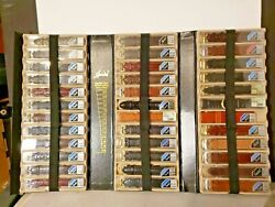 Book Of New Watch Bands Leather Mixed Styles Colors Sizes Some Ostrich In Case