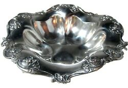 Antique Art Nouveau Sterling Silver Reed And Barton Bowl 456 Weight 17.52 Ozt