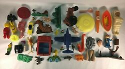 Vintage Mixed Lot Of Cereal Toys Characters