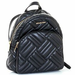 MICHAEL MICHAEL KORS Abbey Quilted Faux Leather Backpack $184.99