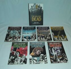 The Walking Dead Volume 1-6, And 8 Comic Book Lot Of 7, And Hardback Book. Lot.