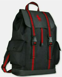 Ralph Lauren Polo Backpack Bookbag Red New With Tags $31.99