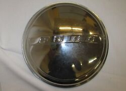 47-56 Ford Hubcap 6a-1130-ss Moon Center Caps 8 1/2 Ton Pickup