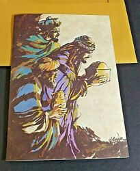Three Wise Men Christmas Cards By Buzza Cardozo Open Box 24 Cards And Envelopes