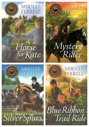 NEW Horses and Friends Set of 4 Books Girls Series Miralee Ferrell 1 2 3 4