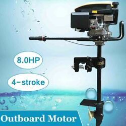 8hp Outboard Motor Boat Engine 4 Stroke With Air Cooling System For Fishing Boat