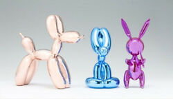 Set Of 3 Sculptures By Editions Studio - Limited /999-mint Condit + Coa -