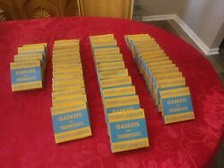 Vtg Lot Of Bishop And Babcock Gaskets Full Boxes 46 Amazing Find Must Look