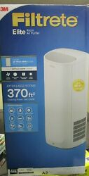 3M Filtrete Elite Room Air Purifier for Extra Large Rooms White BRAND NEW