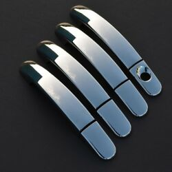 Chrome Door Handle Trim Set Covers To Fit Ford Ranger 2015