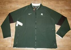 Nike Michigan State Spartans On-field Therma Sideline Jacket Men's 2xl - 140